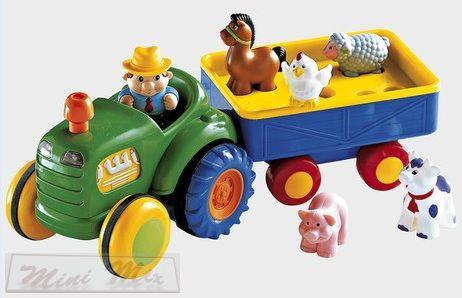 Old McDonald állatos traktor