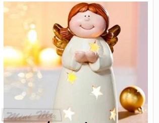 Mécsestartó angyalka