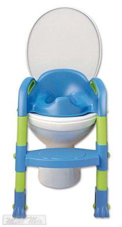 Kiddy Loo épcsős wc szűkítő kék-zöld