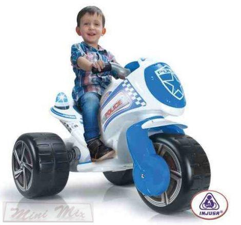 INJUSA police elektromos tricikli 6V