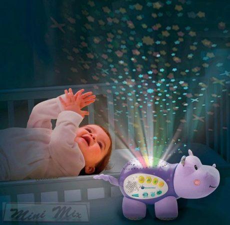 VTECH BABY csillagfény víziló