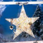 Ledes csillag dekoráció