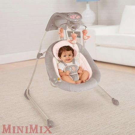 Ingenuity Inlighten Cradling Swing hinta Piper