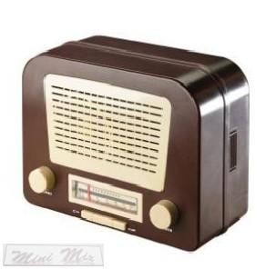 Retro rádió és széf