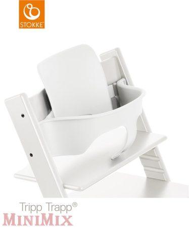 Stokke Tripp Trapp Baby Set White ülőkebetét etetőszékhez