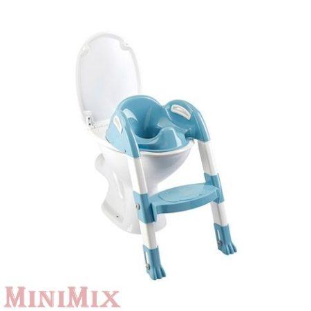 Kiddy Loo Lépcsős wc szűkítő fehér/v.kék