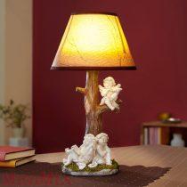 Angyalkás lámpa