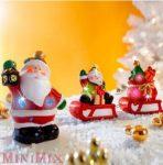 Karácsonyi világító vonat