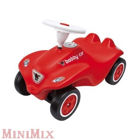 New BIG Bobby Car bébitaxi piros