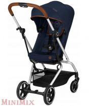 Cybex Eezy S Twist+  Gold Denim babakocsi Denim Blue